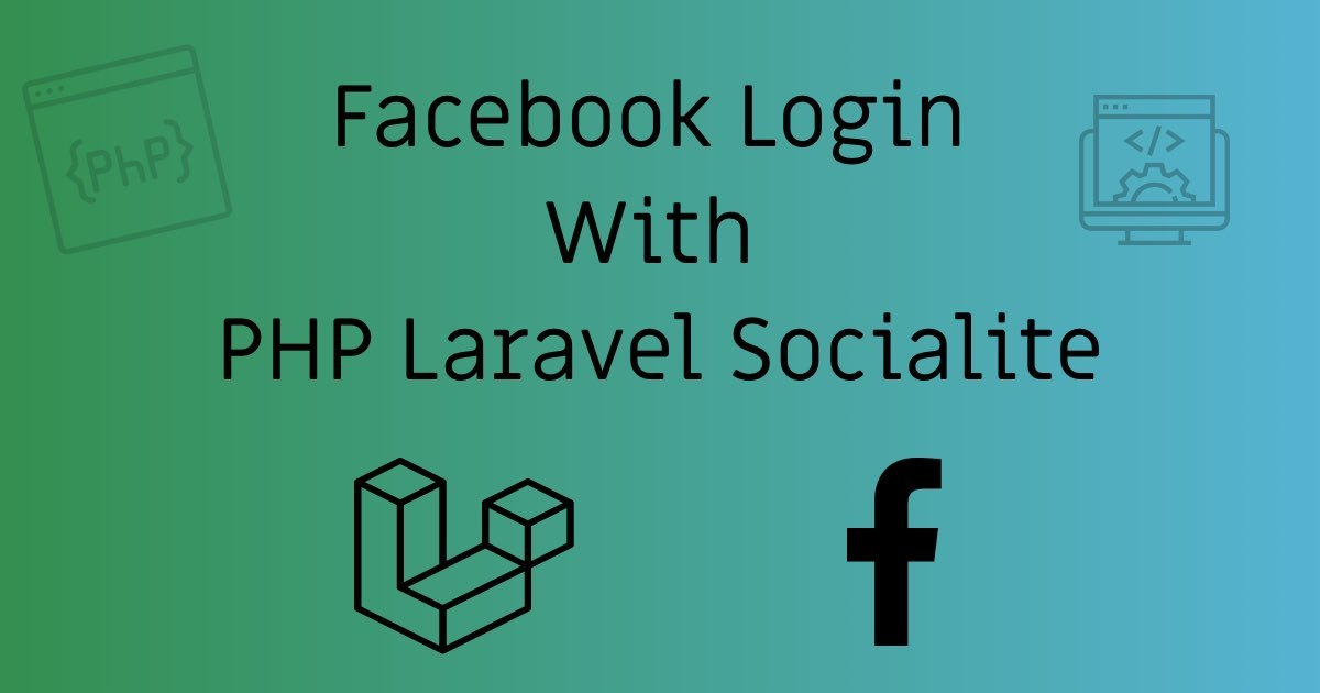 https://stackcoder.in/Facebook Login With PHP Laravel Socialite | StackCoder
