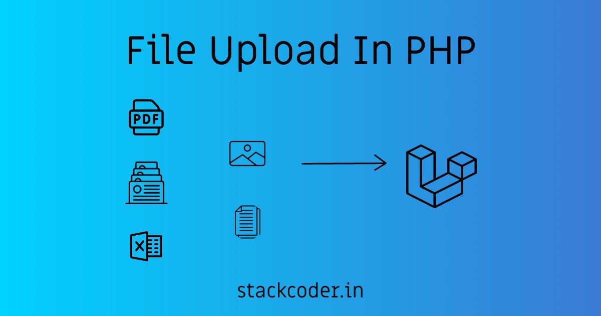 How To Upload File In PHP   StackCoder