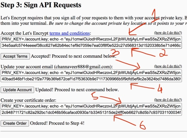Lets Encrypt Sign API Requests | Free SSL Certificate