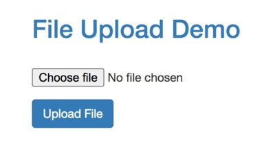 File Upload Demo