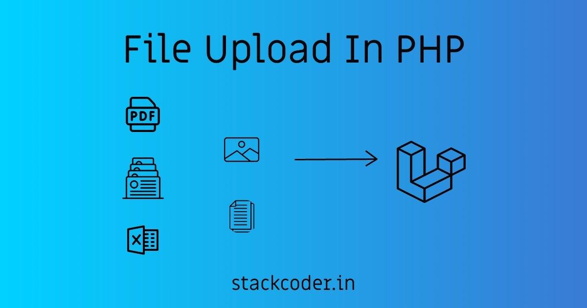 Upload File In PHP | StackCoder