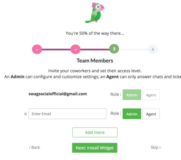 Team Members | Free Live Chat