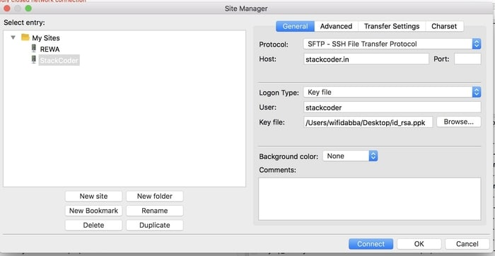 FileZilla Credentials Filled