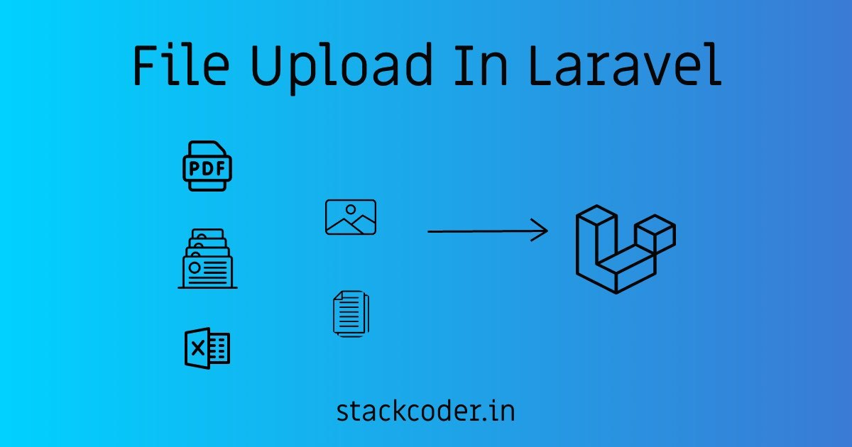 File Upload In Laravel PHP | StackCoder